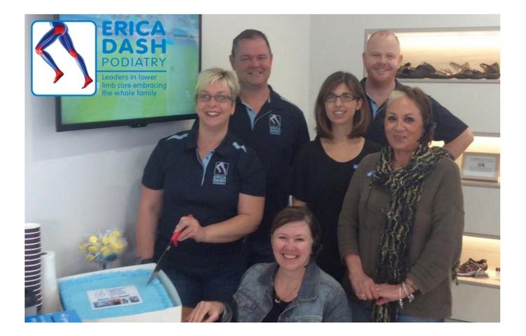 Erica Dash Podiatry Team