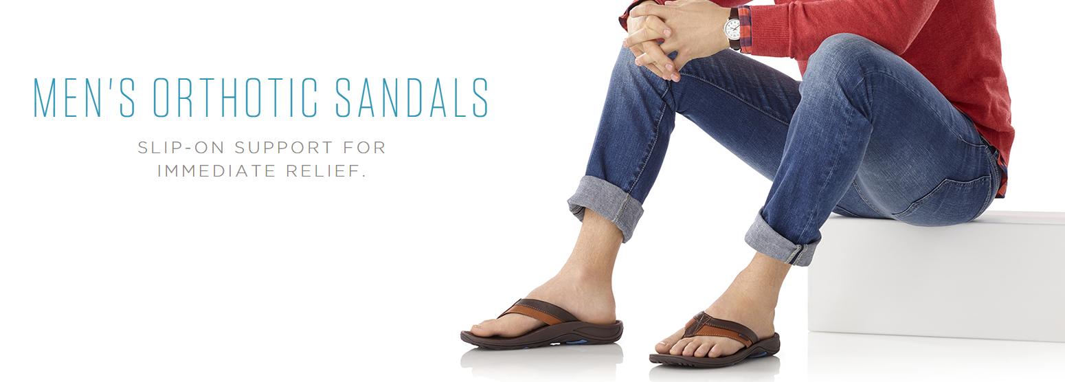 Mens Vionic Sandals