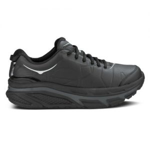Black Leather Valor Mens